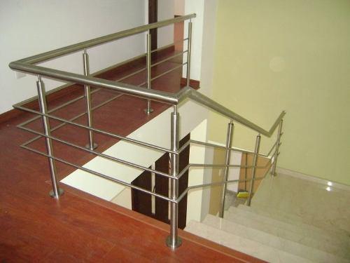 Galeria barandas aceros y aluminios for Brochetas de acero inoxidable