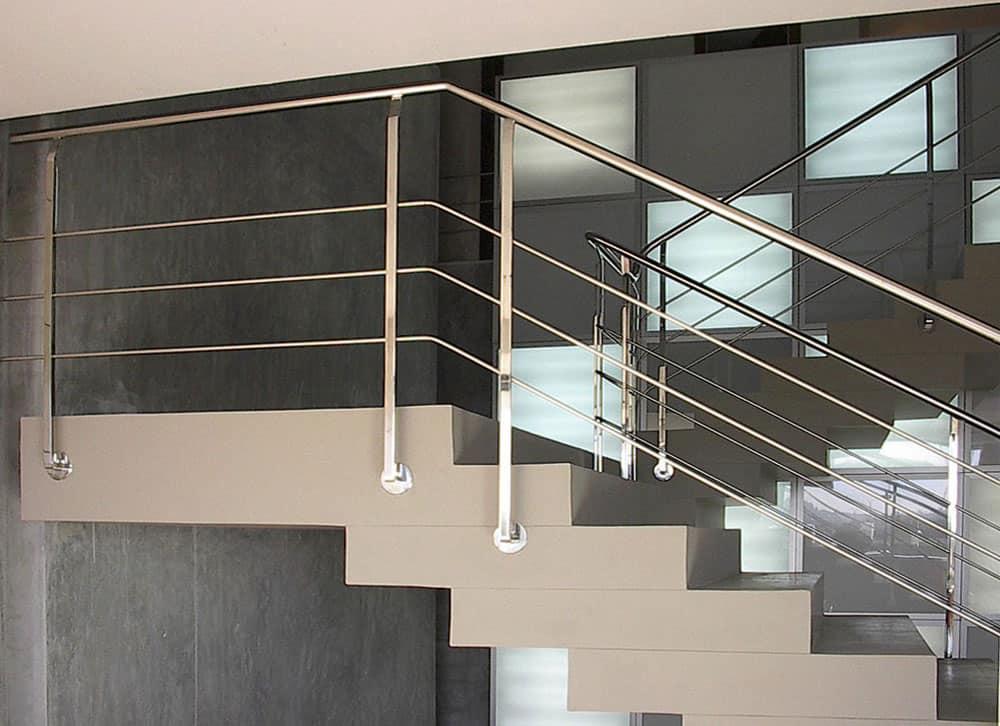 Galeria barandas aceros y aluminios - Figuras de acero inoxidable ...
